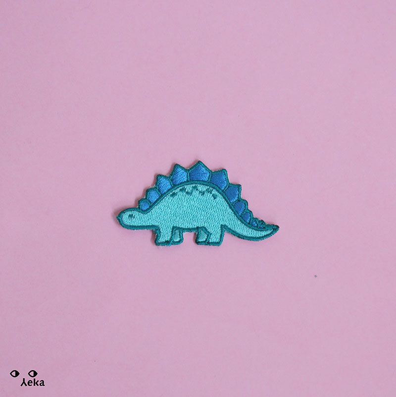 Stegosaur Patch
