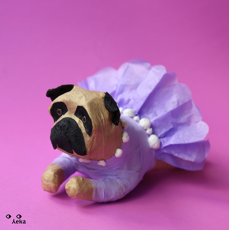 Pug Dress Piñata
