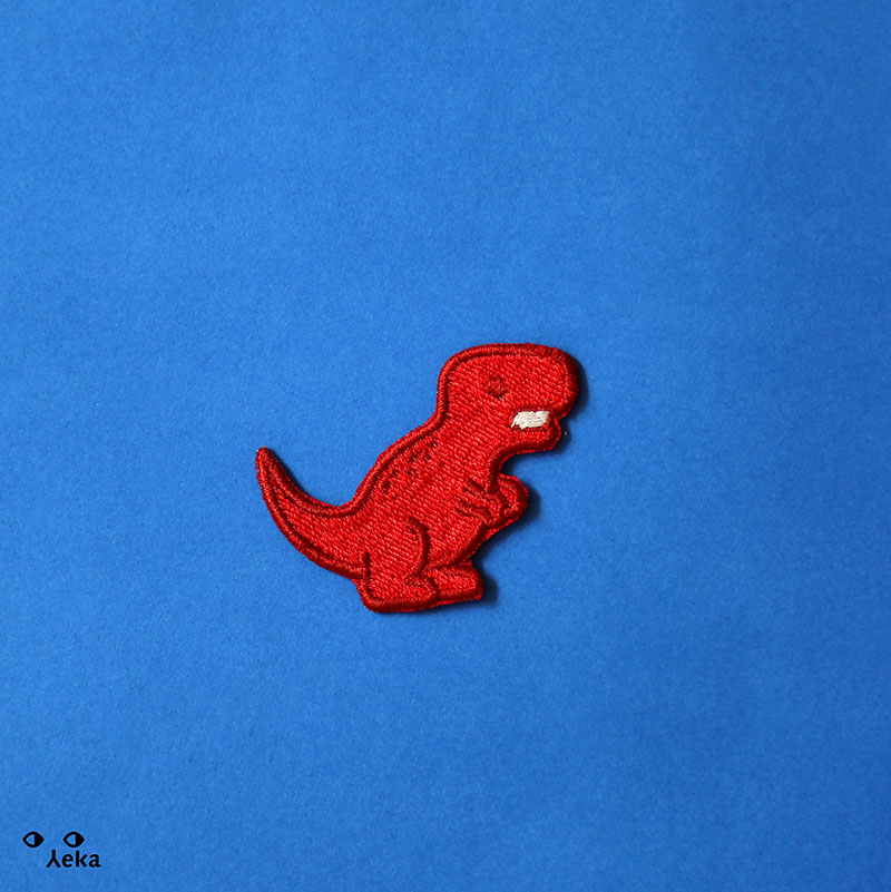 T Rex Rojo Patch